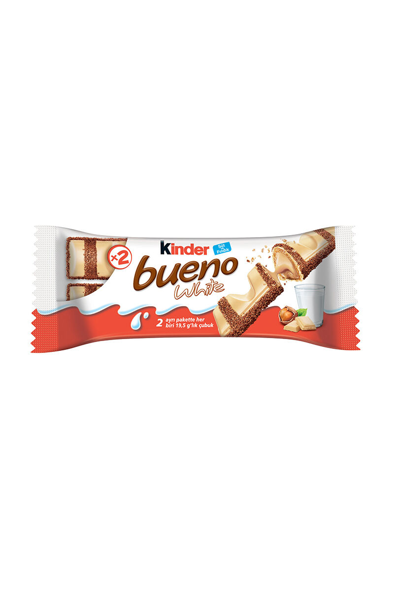 Image for Kinder Bueno White 43Gr.Gofret from Kocaeli