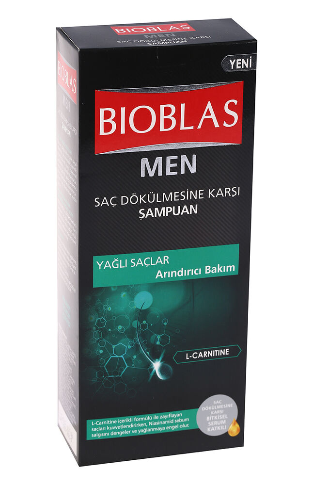 Image for Bioblas Men Şampuan 400 Ml Yağlı Saçlar from Bursa