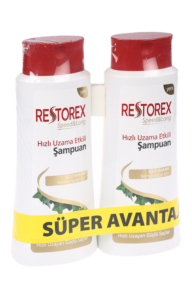 Image for Restorex 650Ml+650Ml Şampuan Normal from Eskişehir