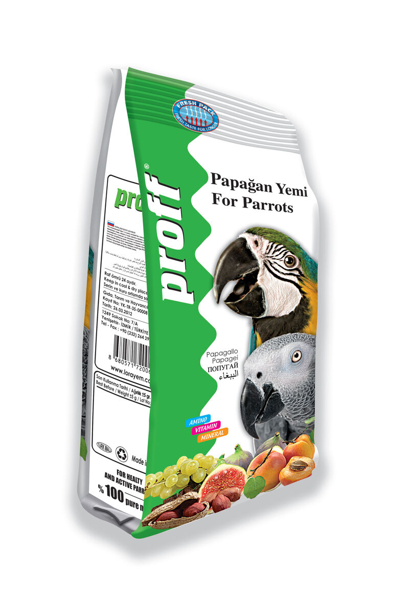 Image for Proff Papağan Yemi 600Gr from İzmir