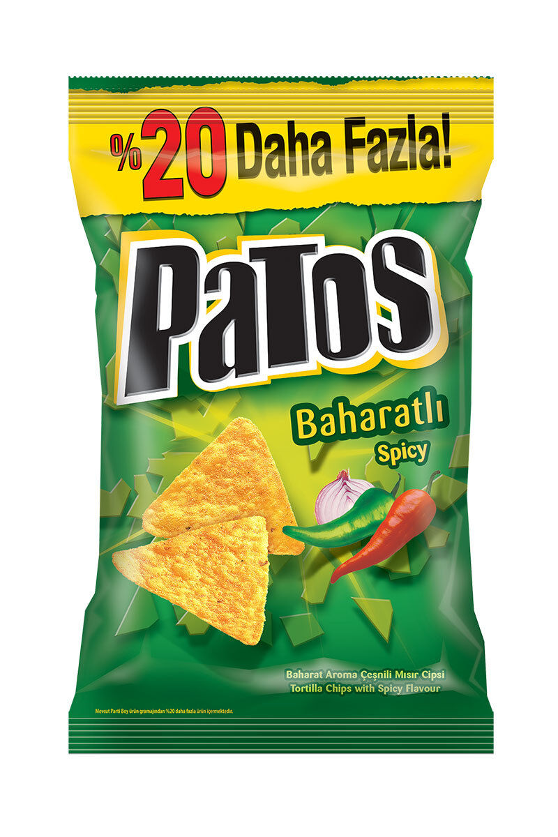 Image for Patos Baharatlı 230 Gr Parti Boy from Antalya