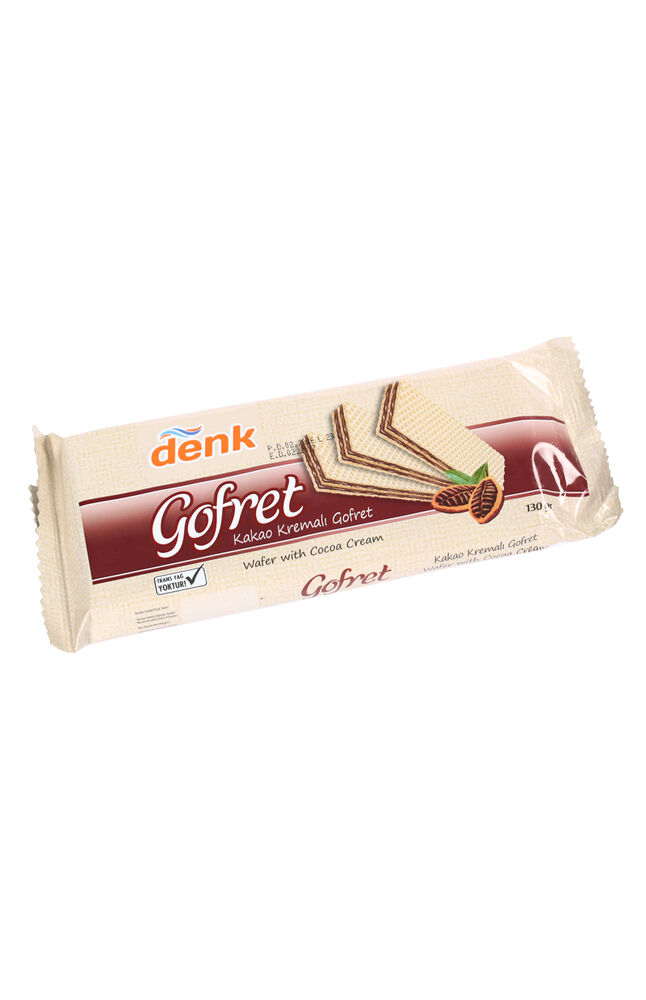 Image for Denk Gofret Kakaolu 130gr from Bursa