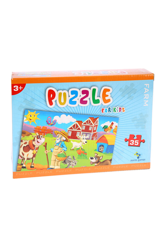 Image for Puzzle Norm 35 Parça Farm from İzmir