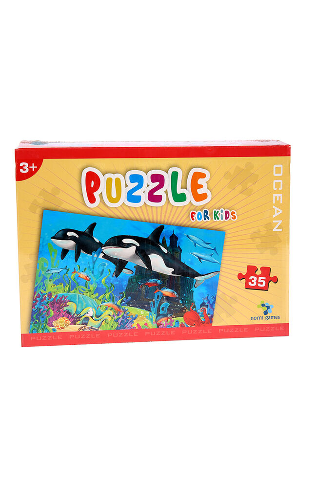 Image for Puzzle Norm 35 Parça Cars Ocean from Bursa