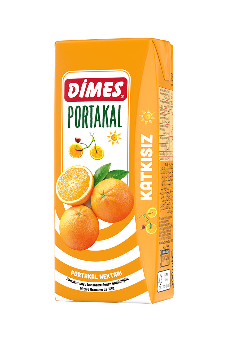 Image for Dimes Meyve Suyu 200Ml Portakal from Bursa