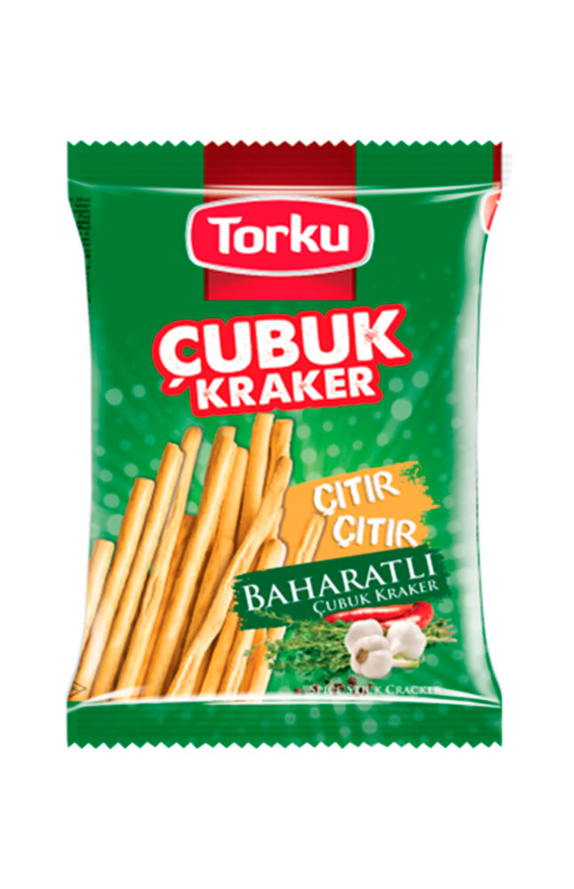 Image for Tokru Baharatlı Çubuk Kraker 136 Gr from Bursa