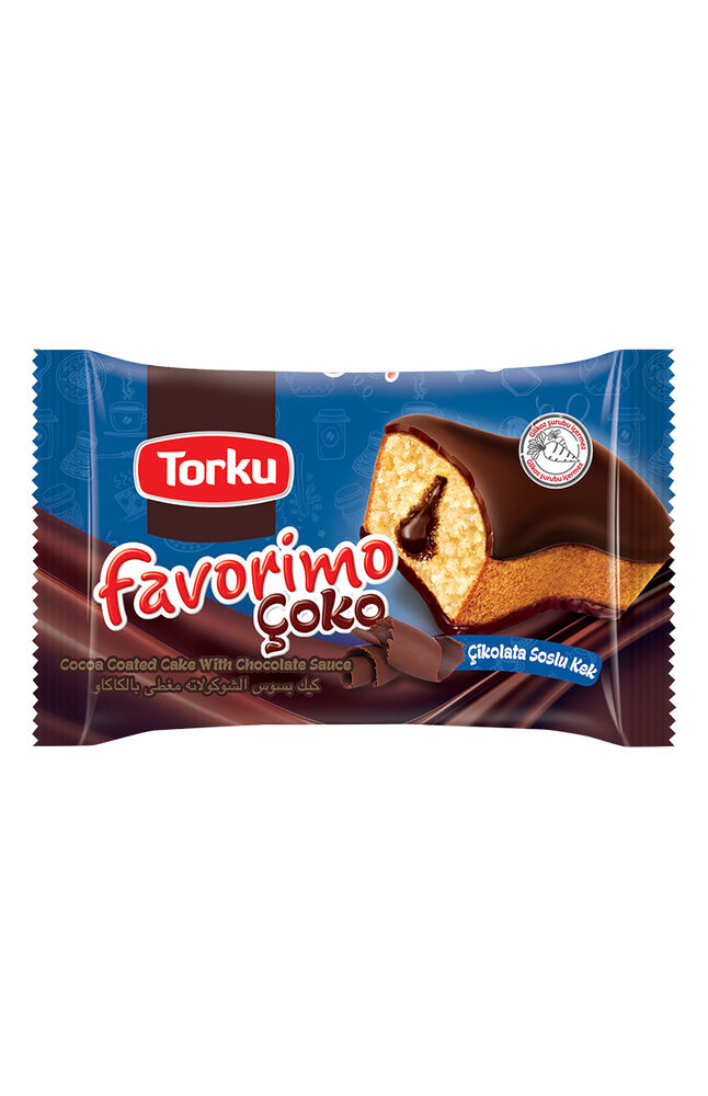 Image for Torku Favorimo Çoko Çikolata Soslu Kek 45 Gr from Bursa