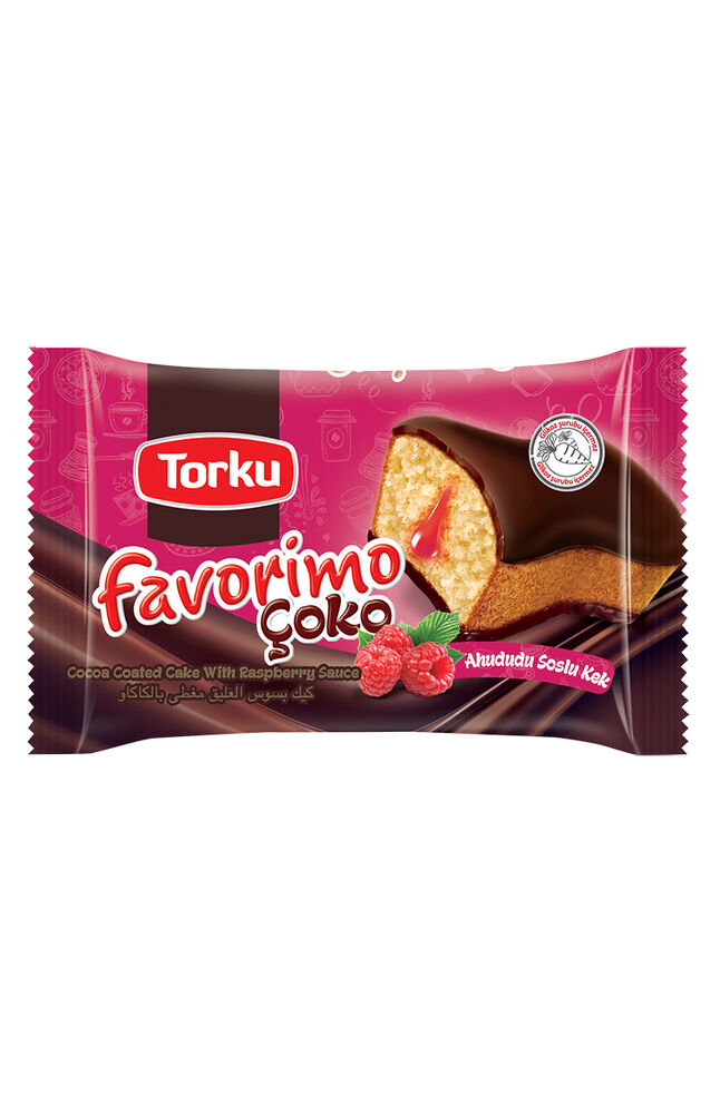Image for Torku Favorimo Çoko Ahududu Soslu Kek 45 Gr from Bursa