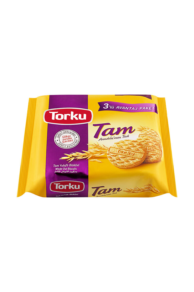 Image for Torku Bisküvi Tam Yulaflı 399 Gr. from Bursa