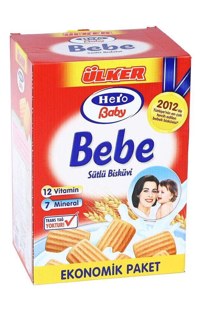 Image for Ülker Hero Bebe Bisküvisi 2X500 Gr from İzmir