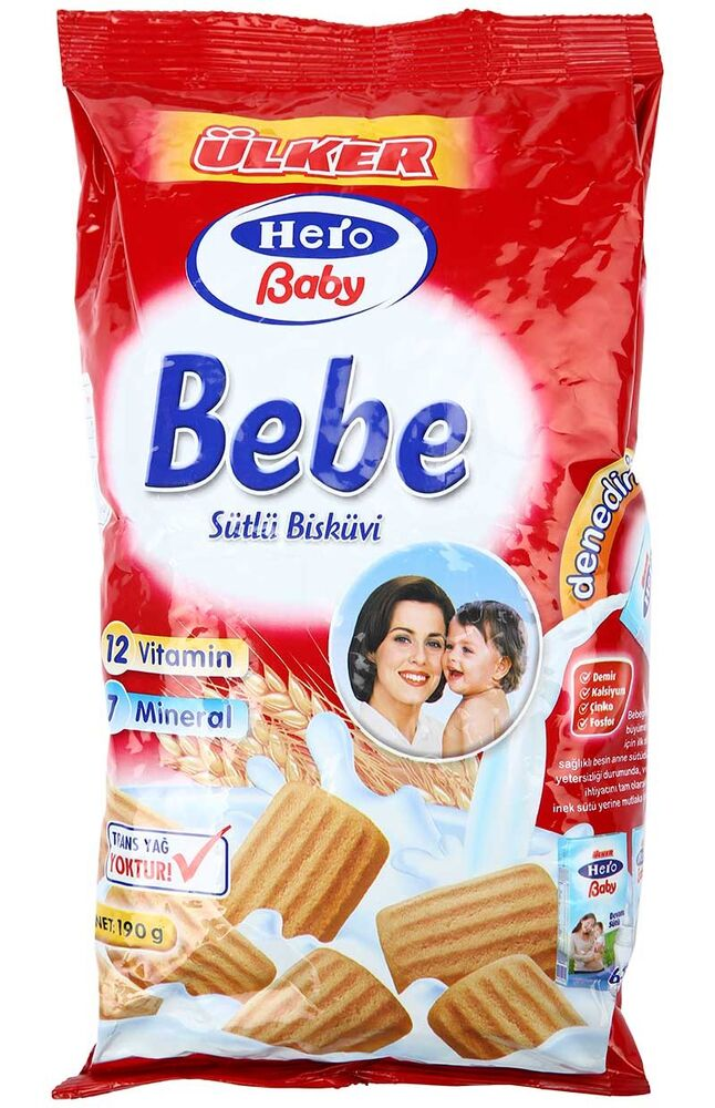 Image for Ülker Hero Bebe Bisküvi 190 Gr from Bursa