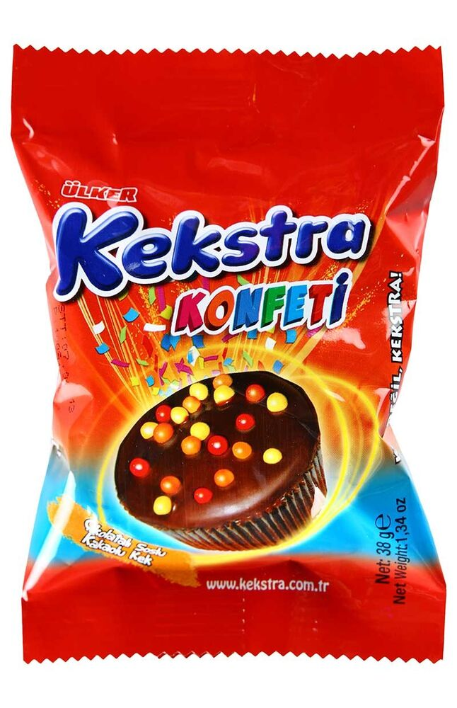 Image for Ülker Kekstra Konfetti Kakaolu 38Gr from Antalya