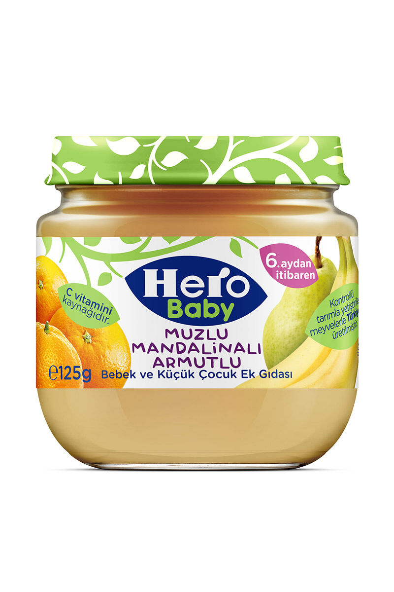 Image for Hero Baby Muz Mandalina Kavanoz Maması 125 Gr from Antalya