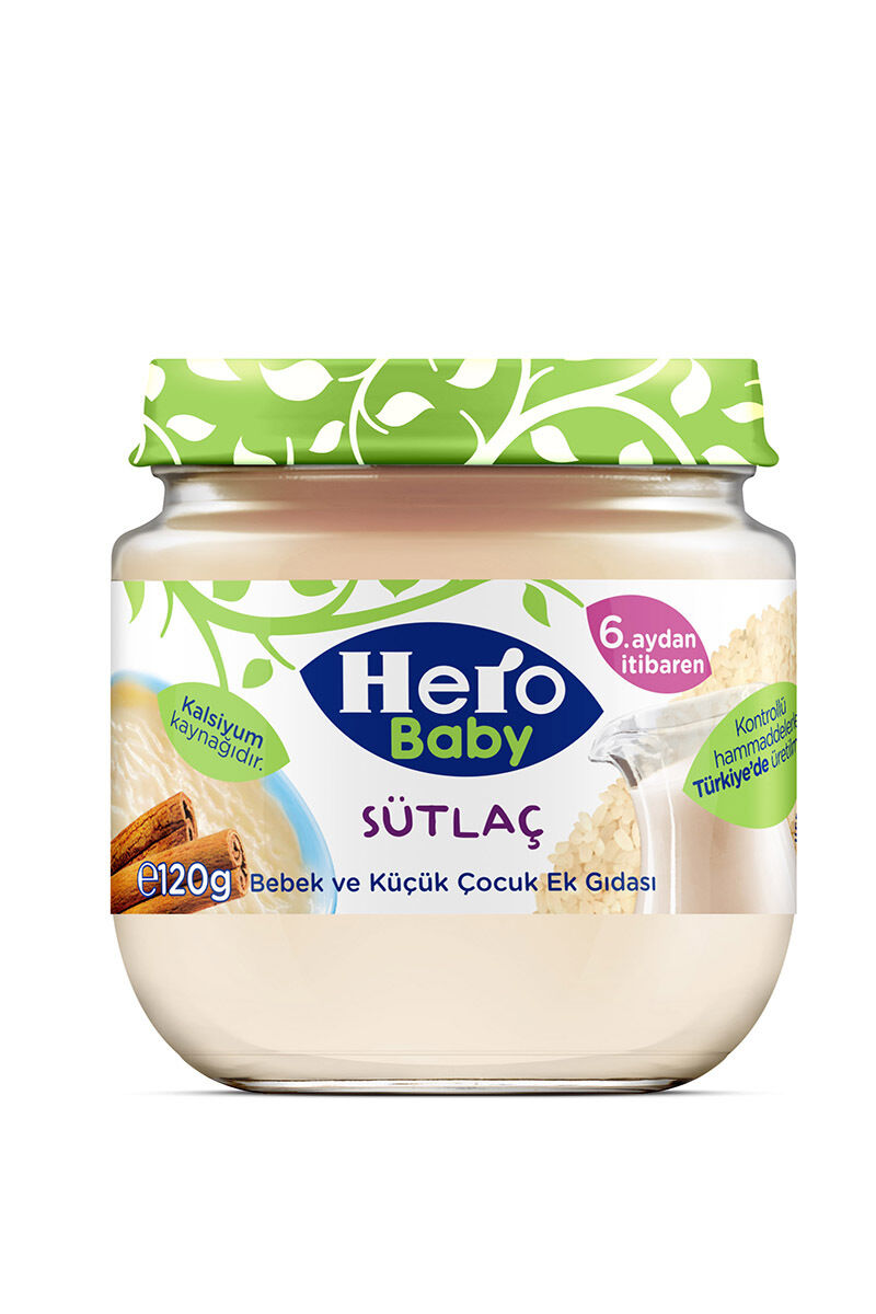 Image for Hero Baby Sütlaç Kavanoz Maması 125 Gr from Bursa