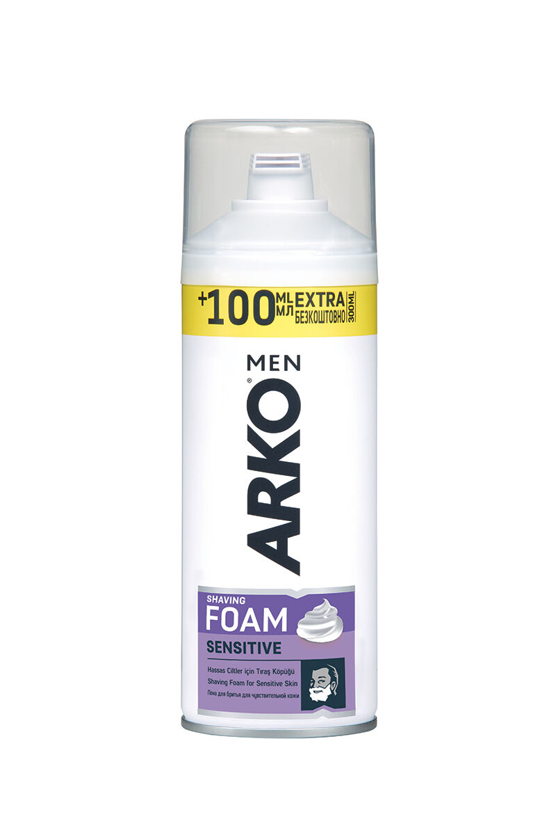 Image for Arko 300Ml Traş Köpüğü Sensitive (100Mlı Hediye) from Bursa