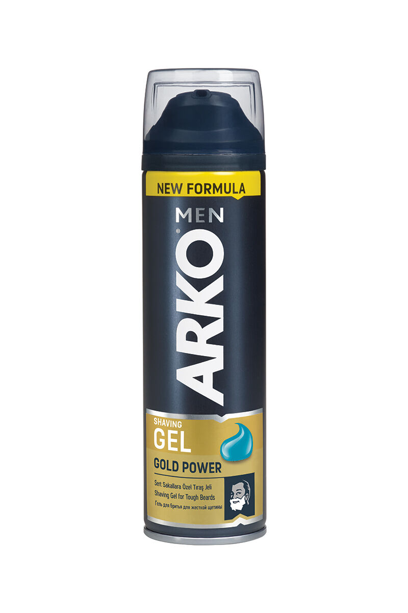 Arko Tıraş Jeli 200 Ml Gold Power