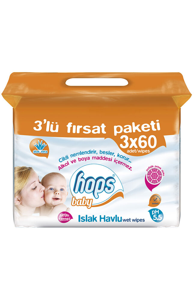 Image for Hops Baby Islaık Havlu 60*3 Lü from Antalya