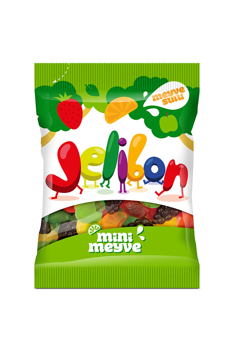 Image for Kent Jelibon Mini Meyve 80 Gr from İzmir