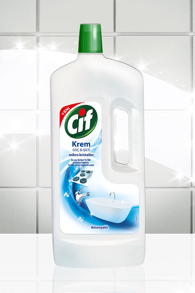 Image for Cif Krem 1500 Ml Amonyaklı from Eskişehir