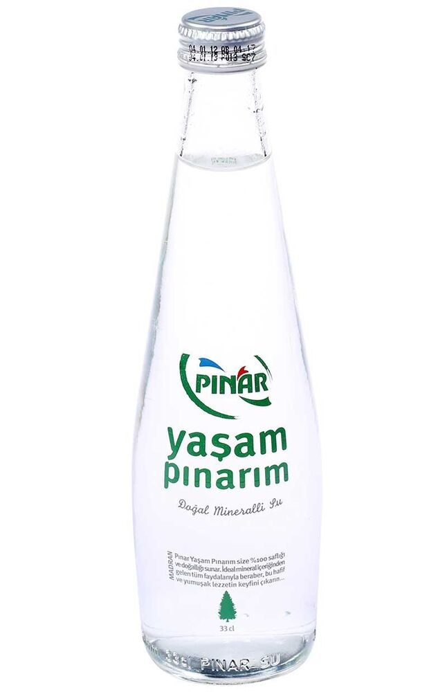 Image for Pınar Madran Su 330 Ml Cam from Antalya