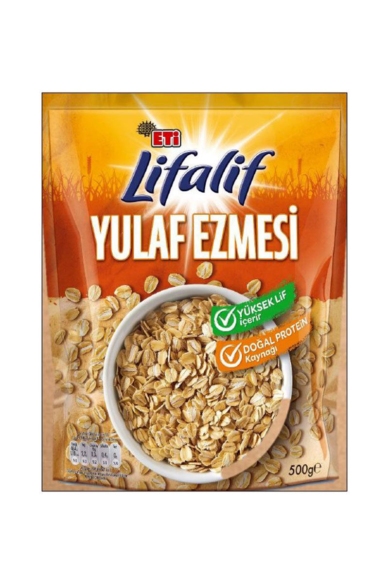 Image for Eti lifalif Yulaf Ezmesi 500 Gr from Antalya