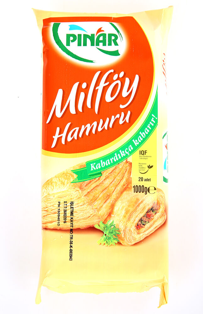 Image for Pınar Milföy 1000 Gr from Antalya