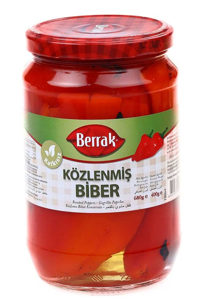 Image for Berrak Közlenmiş Biber 680 Gr from Bursa