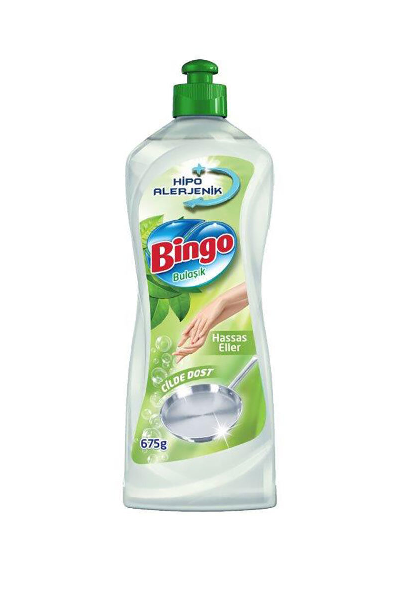 Bingo Dynamic Bulaşık Deterjanı 700 Ml Sensitive