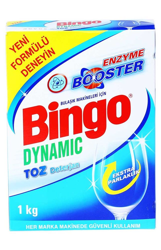 Image for Bingo Dinamik Bulaşık Makinesi Toz Deterjan 1 Kg from Bursa