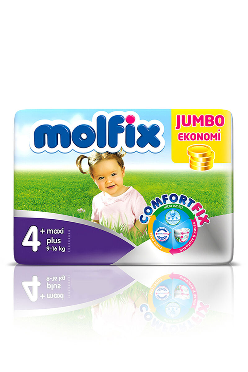 Image for Molfix Bebek Bezi Jumbo Maxi Plus(4+) 9-16 Kg 42 Ped from Bursa