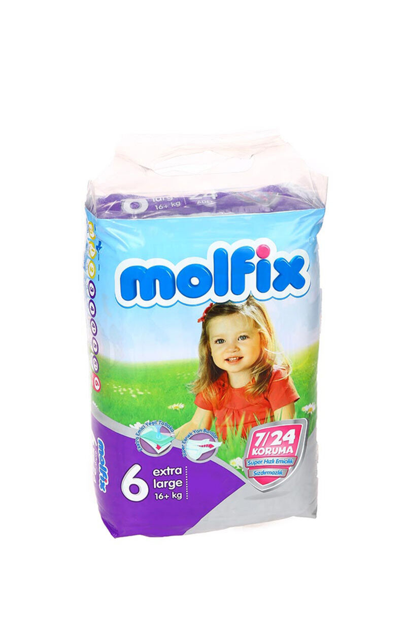 Image for Molfix Bebek Bezi İkiz Extra Large(6) 15+ Kg 20 Ped from Kocaeli