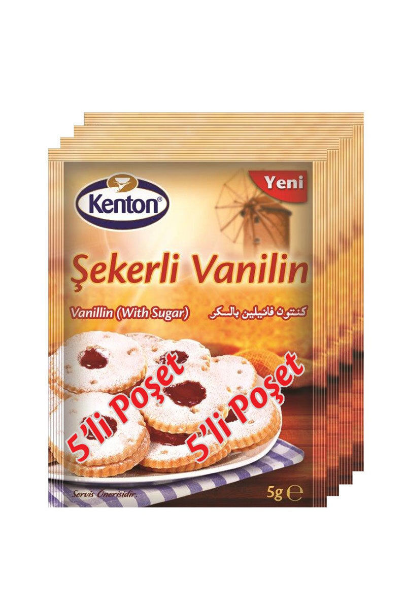 Image for Kenton Şekerli Vanilin 5'Li from İzmir