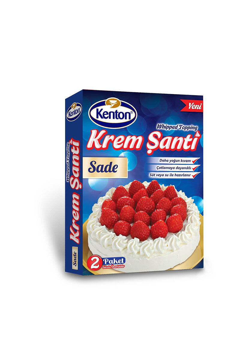 Image for Kenton Krem Şanti 150 Gr Sade from Antalya