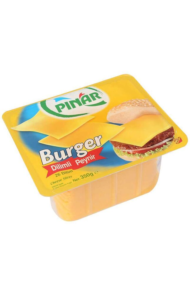 Image for Pınar Dilimli Burger Peynir 350 Gr from Bursa