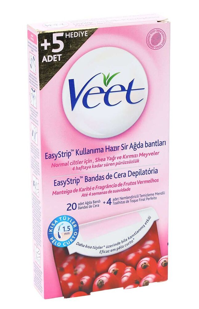 Image for Veet Ağda Bandı Normal 20Li %25 Bedava from Bursa