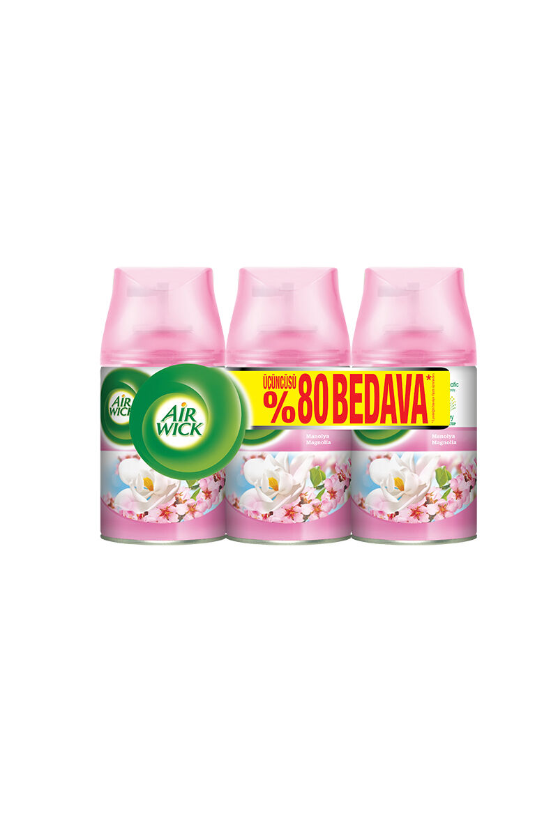 Image for Air Wick Freshmatık 3'Lü Yedek Eko Paket Manolya from Bursa