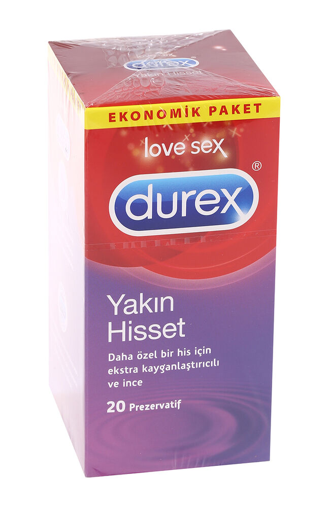 Image for Durex Prezervatif Yakın Hisset 20'Li from Bursa