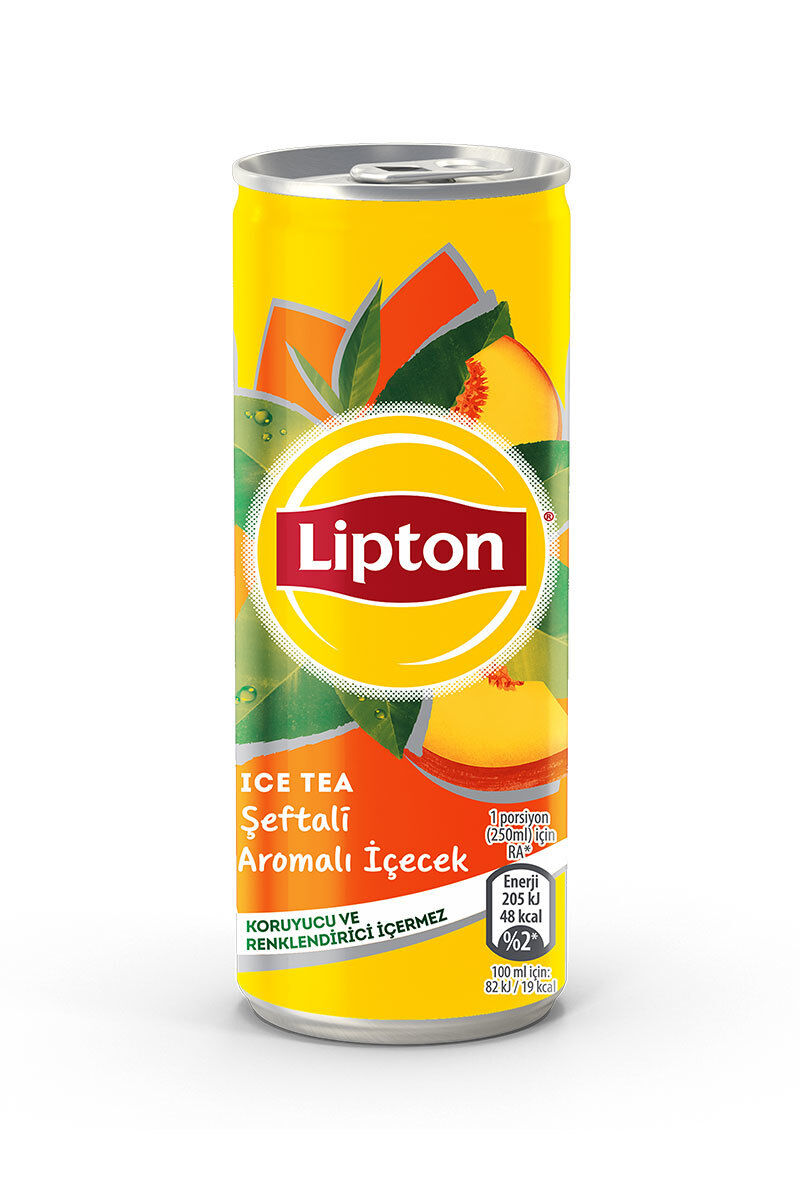 Lipton Ice Tea Kutu 250Ml Şeftali