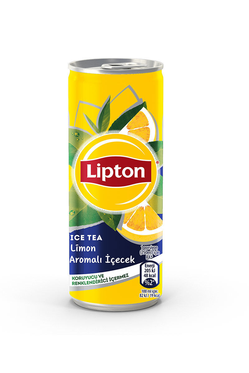 Lipton Ice Tea 250Ml Limon Kutu