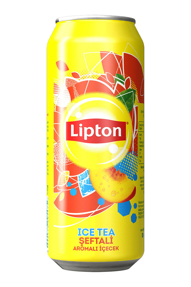Lipton Ice Tea 500Ml Şeftali Kutu