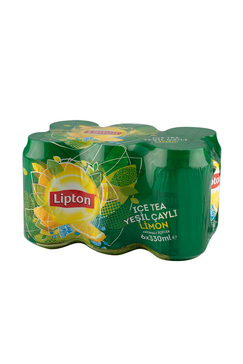 Lipton Ice Tea 330Ml 6'Lı Green-Kutu
