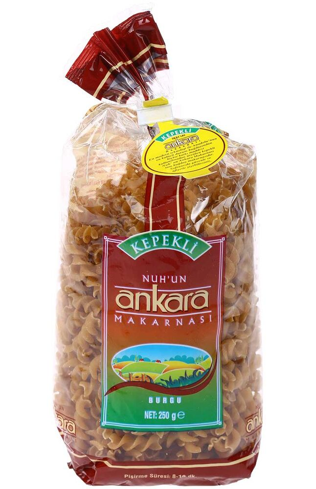 Image for Ankara Burgu Kepekli Makarna 250 Gr from Bursa