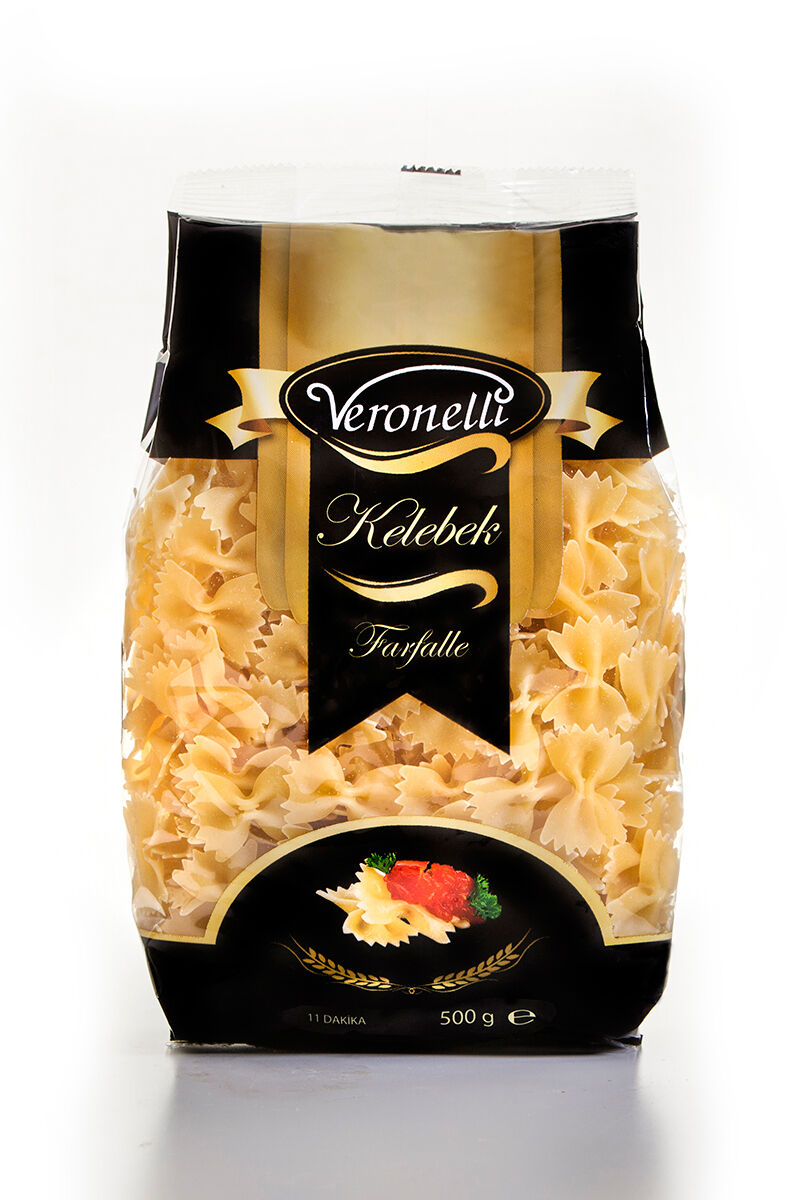 Image for Veronelli Kelebek Makarna 500 Gr from Bursa