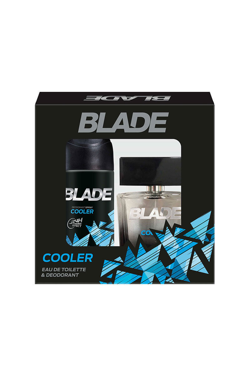 Blade Set Cooler Edt+Deodorant Kofre Set