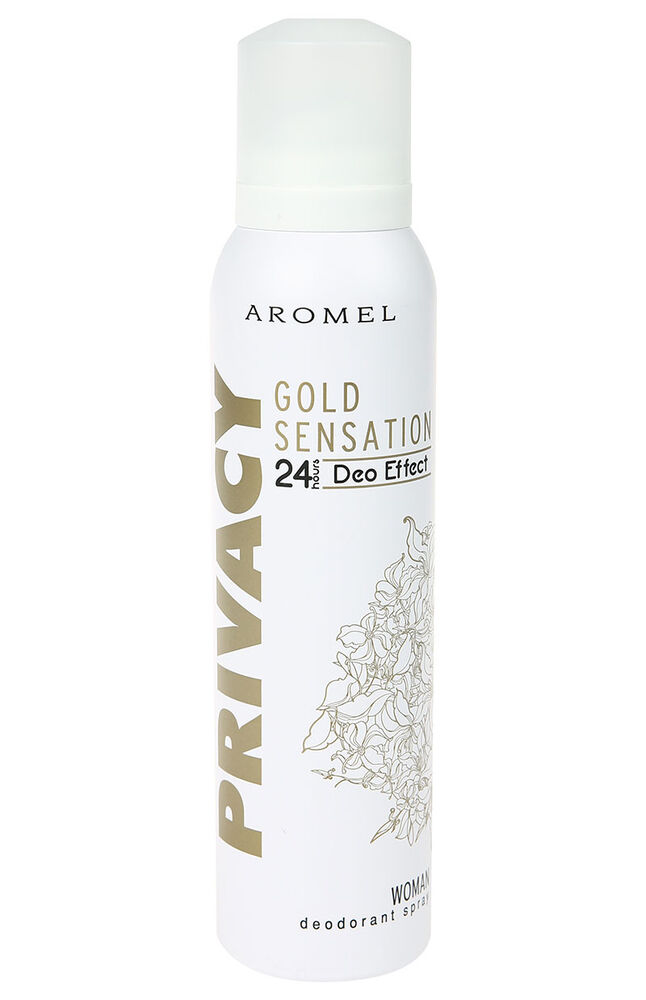 Image for Privacy Deodorant 150Ml Gold Women from Antalya