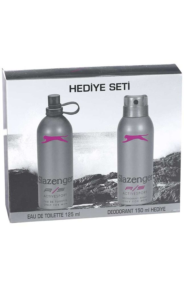 Image for Slazenger Edt Parfüm Active Sport Mor Deodorant Hediyeli from Antalya