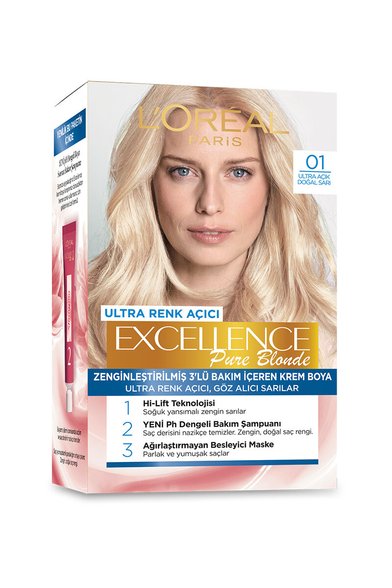 Image for Excellence Boya No:01 Blonde from Antalya