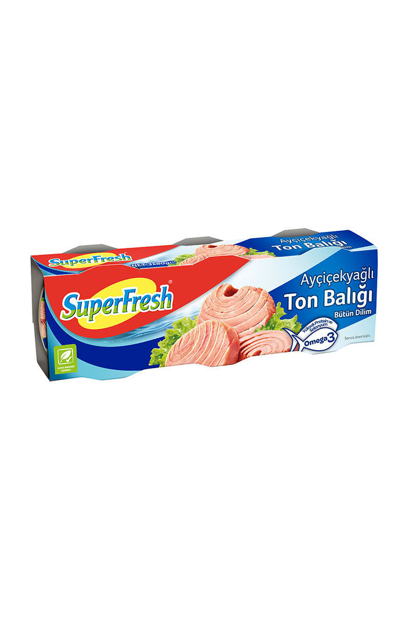 Image for Superfresh Ton Balığı 3X80 Gr from Kocaeli