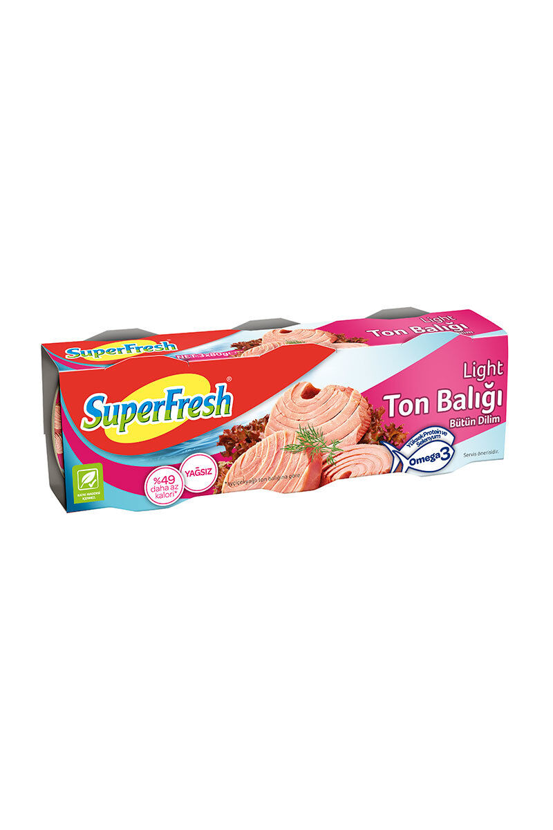 Superfresh Ton Balığı Light 3X80 Gr