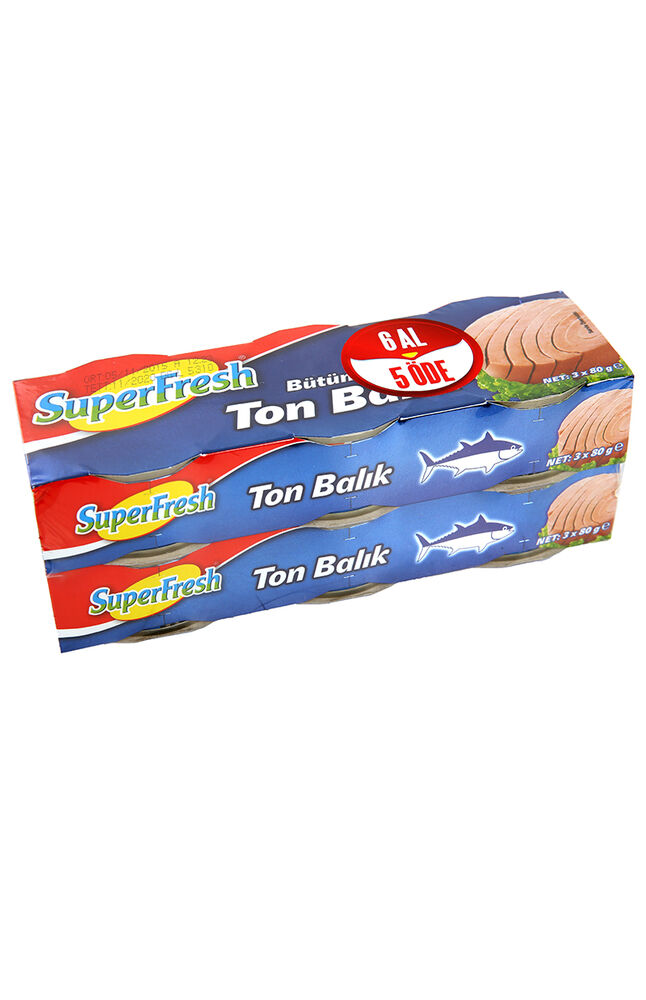 Image for Superfresh Ton Balığı 6X80 gr. from İzmir